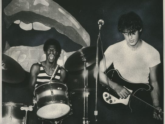 Drummer Kenny Baldwin and bassist Andy Cavaluzzi of