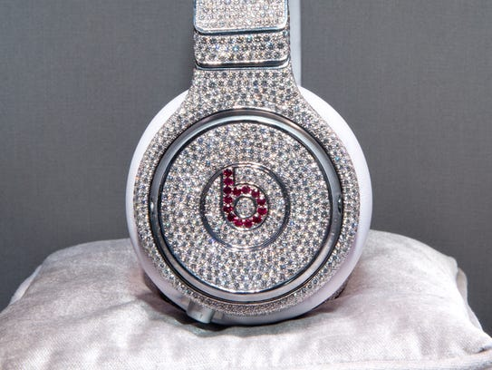 NEW YORK, NY - JANUARY 31:  The Million Dollar Headphones by Beats by Dr. Dre & GRAFF Diamonds on January 31, 2014 in New York City.  (Photo by Noam Galai/Getty Images for Beats by Dr. Dre)