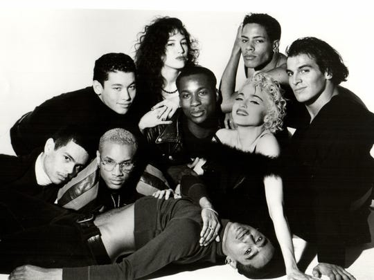 Madonna with her dancers in Truth or Dare