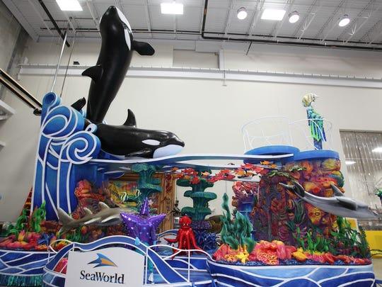 SeaWorld Float