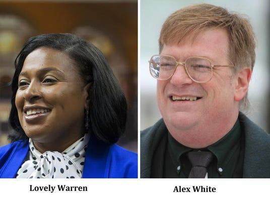 Lovely Warren and Alex White