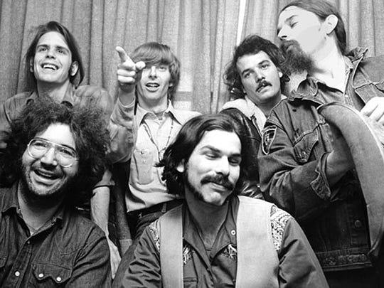 Grateful Dead circa 1970s.