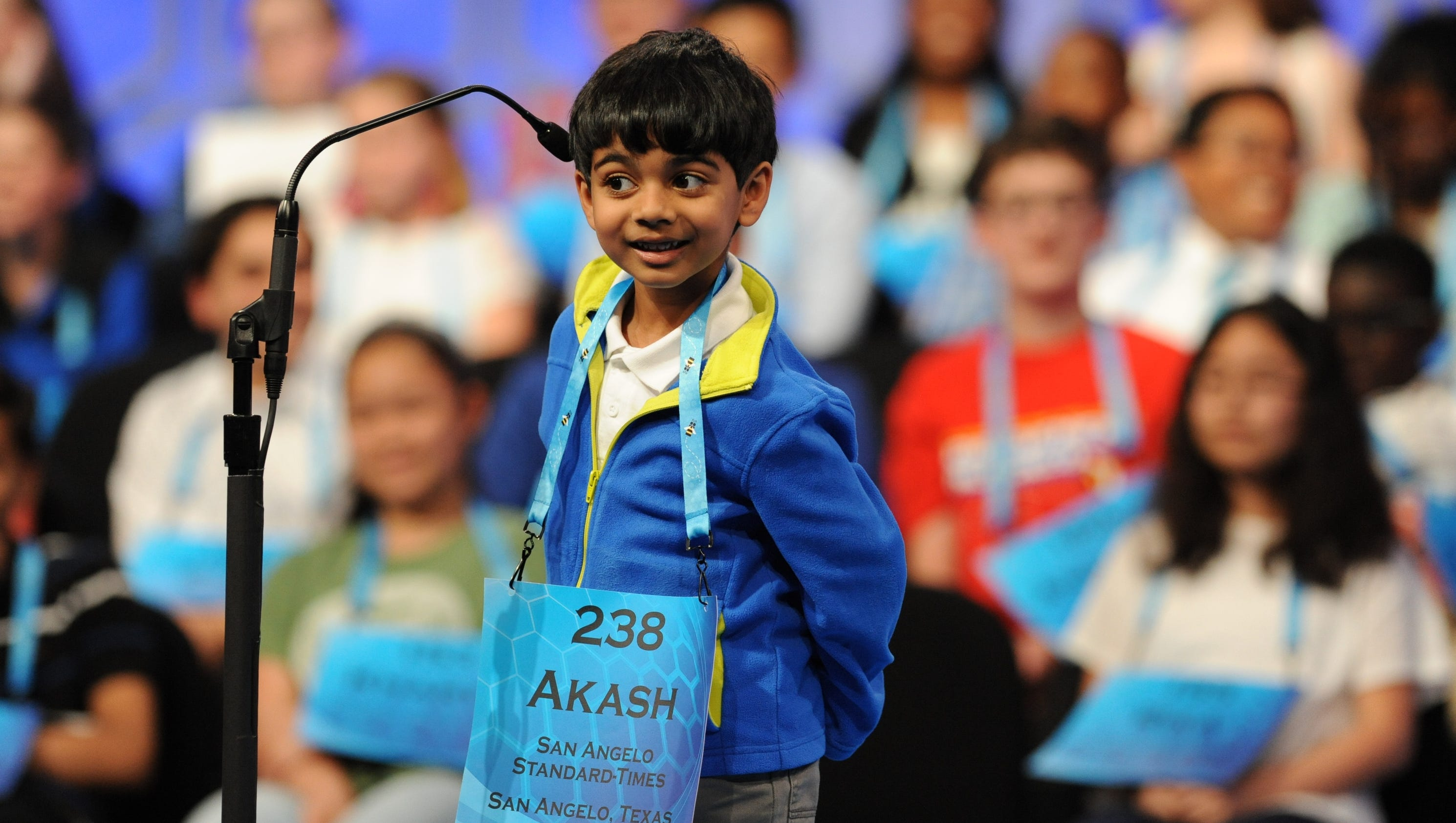 Akash Vukoti, 6, is the National Spelling Bee's youngest ...