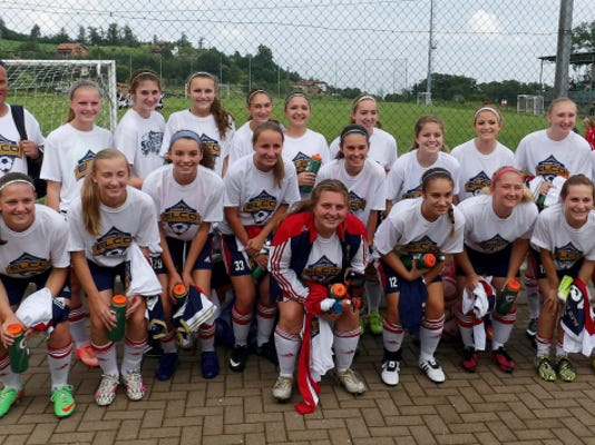 The Elco United girls soccer team returned last week from a 12-day trip to Italy that was both an athletic and cultural success.