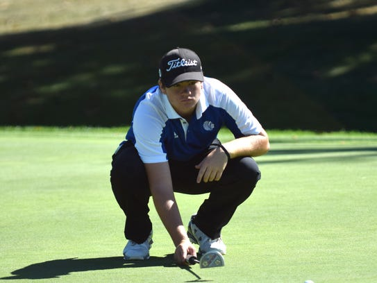 Fort Defiance's Christian Michael, seen here during