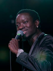 Comedian Michael Blackson appears at Chuckles in Cordova this weekend.