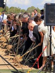 Groundbreaking ceremony for the LDS Cedar City Utah