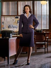 ABC's 'Agent Carter' stars Hayley Atwell as Peggy Carter.