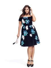 Knit Bardot dress, $32.99.