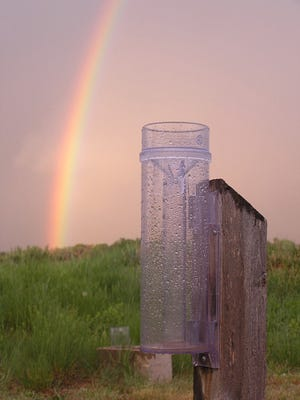 New CoCoRaHS volunteers need an official 4-inch plastic rain gauge and are required to take a simple training course online.