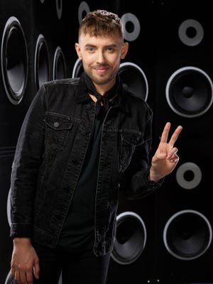 """Hunter Plake  of Lafayette is a Top 12 contestant on Season 12 of """"The Voice."""""""