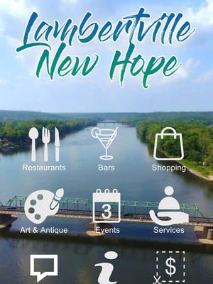 The Lambertville-New Hope app can be downloaded in your app store.
