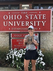 Johnstown junior Gabby Thomas tied for eighth during the Division II state meet to earn All-Ohio honors.