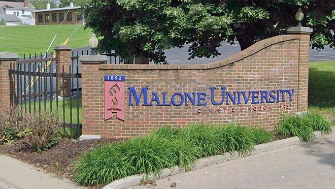 Malone University entrance