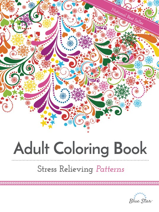 adult coloring books promise stress relief