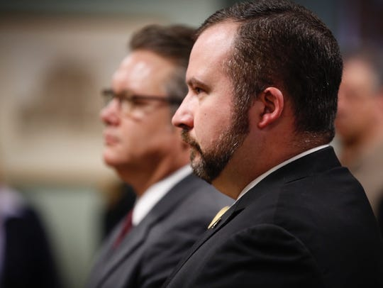 Butler County state Rep. Wes Retherford appears in