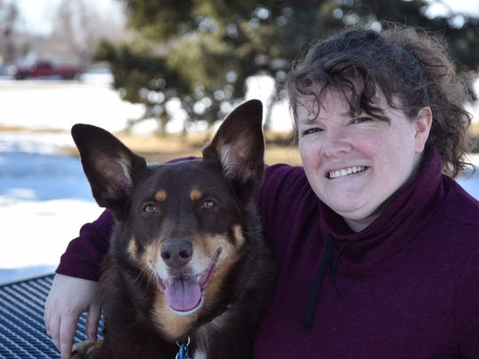 Lindsey Godwin's dog, Mona, will be honored with the