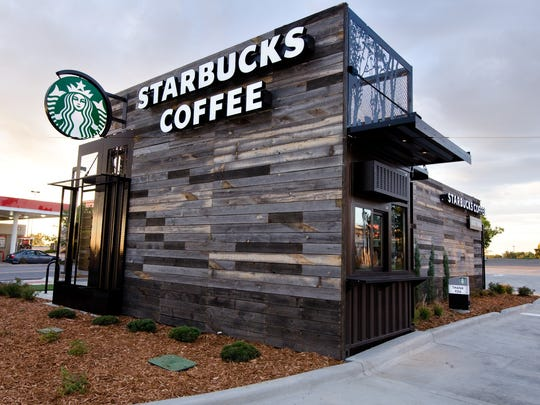 Even coffee giant Starbucks has embraced the container trend, building modular stores from shipping containers like the drive-through and walk-up building in Northglenn, Colorado, that's covered in reclaimed Wyoming snow fencing.