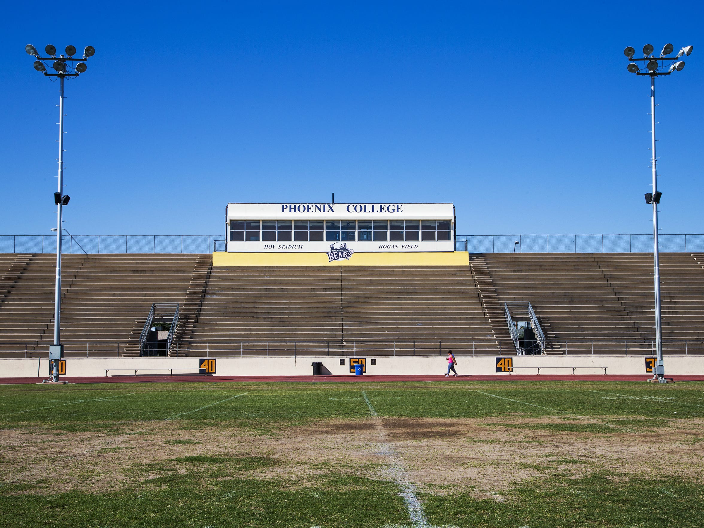"""""""We want to be a Phoenix school,"""" Phoenix College associate coach Robin Pflugrad said. """"We want to be the program that rises from the ashes."""""""