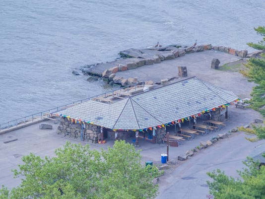Aerial view of the Snack Shack