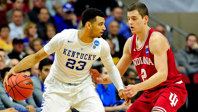 Kentucky Wildcats guard Jamal Murray (23) could be one of the top shooting guards taken in this year's NBA draft.