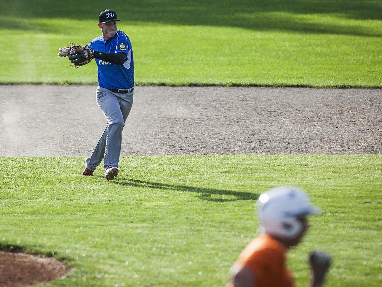 Legion baseball at McCulloch Park.