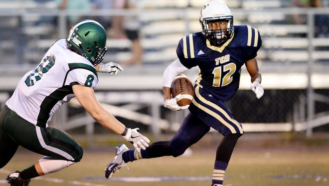 Micah Jenkins and Roberson improved to 2-0 with Friday's 55-7 home win over East Henderson.