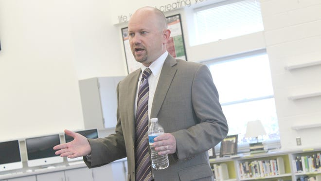 Anthony Voss, a candidate for the Solon Community School District superintendent position.