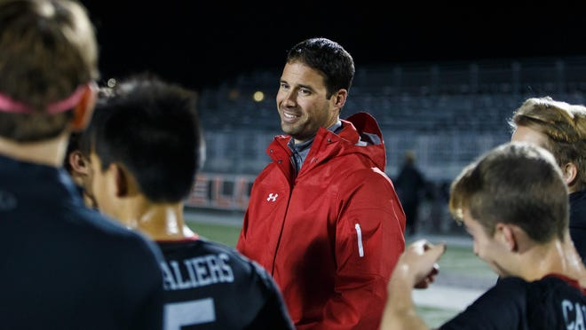 Lake Travis Cavaliers coach David Bammel picked up the coach of the year award after leading the Cavs to a 16-2-4 record, including a 13-1-1 mark in District 25-6A play.