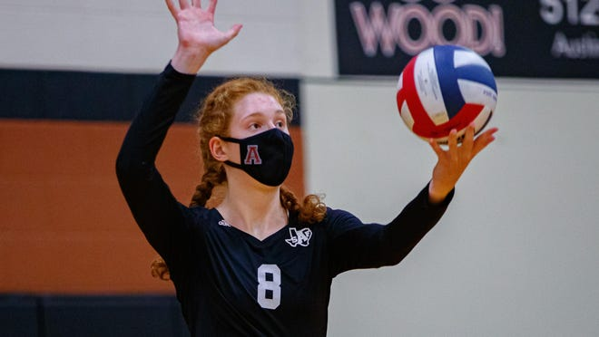Austin High's Sadie Swift, who had nine kills and six blocks as the Maroons improved to 6-0 by beating Hendrickson, earned American-Statesman player of the week honors.