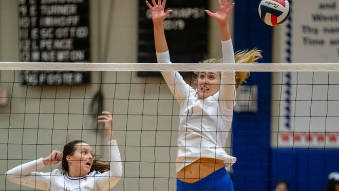 Westlake middle blocker Genevieve Perry has emerged as one of the most intimidating presences at the net in the Austin area during her three seasons as a starter for the Chaps' volleyball team.