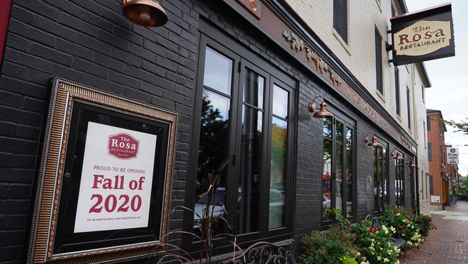 The Rosa Restaurant announced Monday that it is closing temporarily because an employee has tested positive for COVID-19.