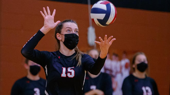 Lake Travis outside hitter Jamison Wheeler had 13 kills as the Cavs closed in on the District 26-6A title by sweeping Austin High last week.