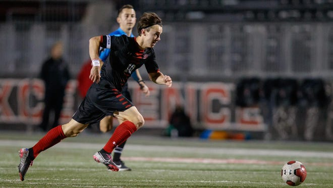 Lake Travis attacking midfielder Ben Arney was among the Austin-area soccer players honored by the Texas Association of Soccer Coaches.