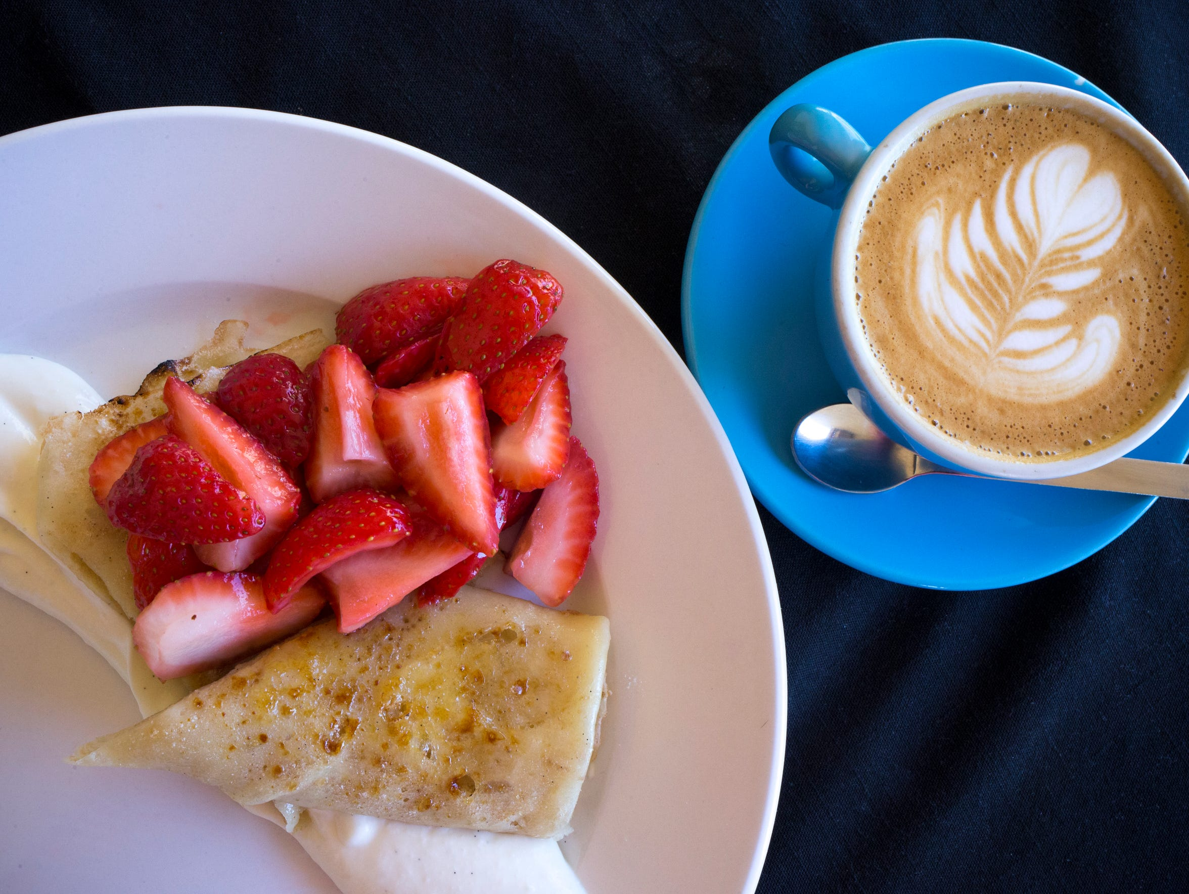 Chef Kraus' vanilla bean custard crepe is but one of many variations to try.