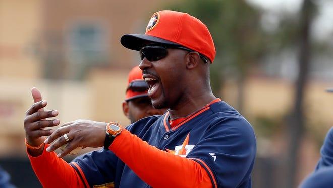 Houston Astros' Bo Porter enters his second season as manager.