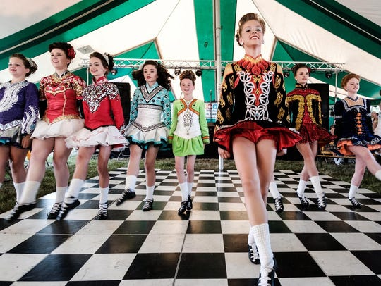 The Motor City Irish Fest includes dancers and live