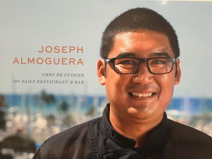 Chef Joseph Almoguera, originally from Yigo, brought