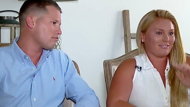Avery Suelzer and Megan Carney discuss their wedding venue woes with Fox59.