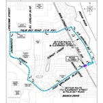 Part of Port Malabar Boulevard will be closed from 6 a.m. on Sunday, April 19 until midnight on Tuesday, April 21.