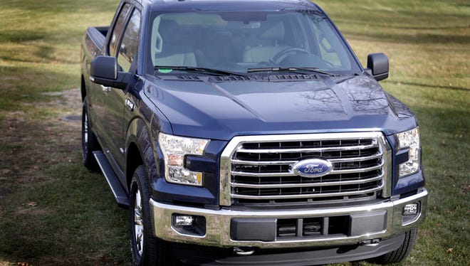 The 2105 Ford F-150 XLT Supercab 4x4.