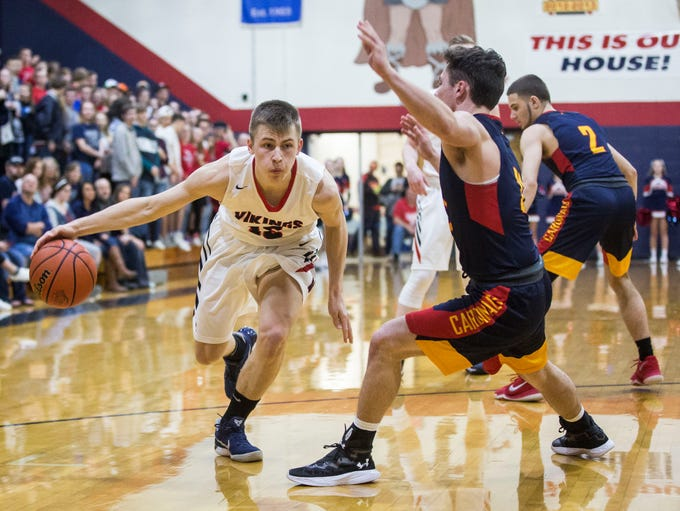 Blue River Valley took on Seton Catholic on March 3