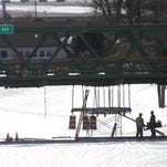 Repairs are being made on the Park Avenue bridge over the Erie Canal in Brockport by the New York state DOT.