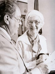 Lucile Morris Upton, who died in 1992, was one of the