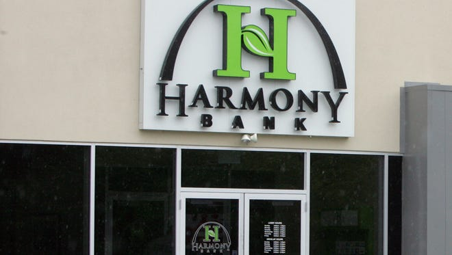 A Harmony Bank branch in Lakewood, as seen in a 2011 file photo.