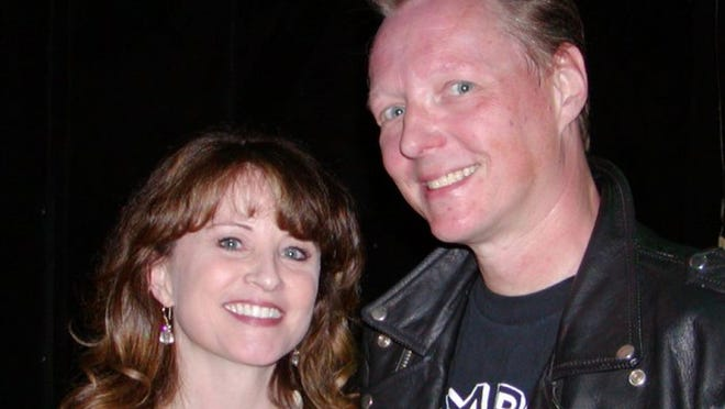 Worcester native Kerry Kindell and her husband, X guitarist Billy Zoom.
