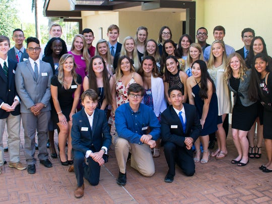 Youth Leadership Collier class of 2018.