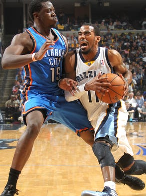 April 26, 2014 -  Memphis Grizzlies guard Mike Conley