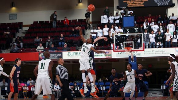 Woodlands defeated Briarcliff 56-50 to win the Section