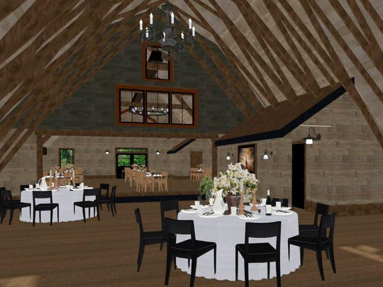 The Canton Barn LLC can host up to 350 people for an
